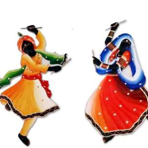 dandiya-couple-wall-hanging