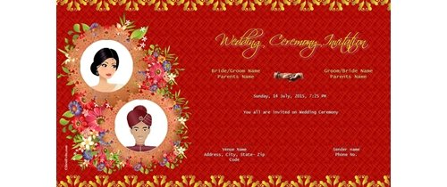 Free Weddingindia Invitation Wedding Invitations