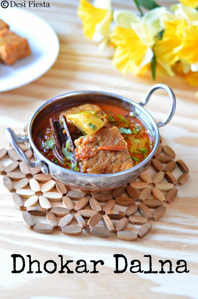 Dhokar Dalna ( Bengali gravy ) - Desi Fiesta