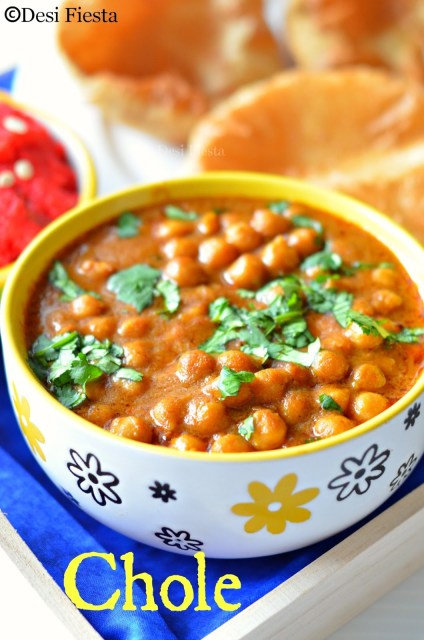 Kabuli channa / Chickpea cholay