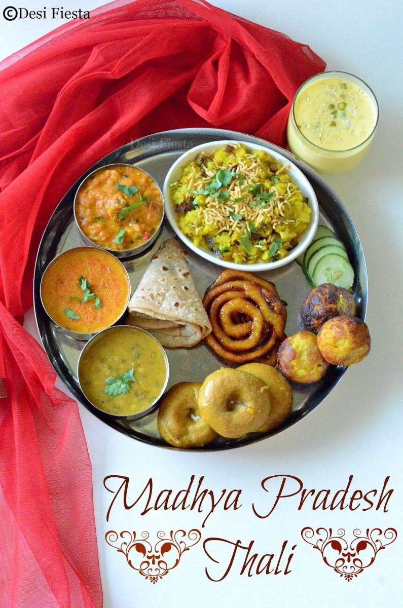 Madhya Pradesh Thali