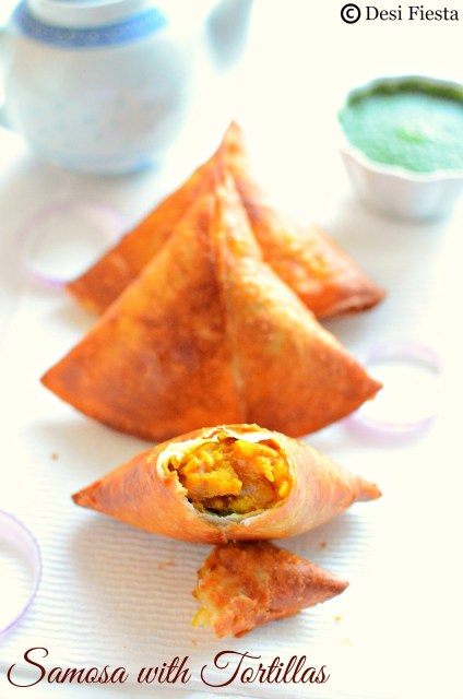 Potato samosa Recipe