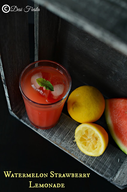 Drinks with fruits recipe