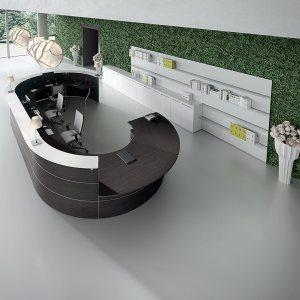 Art.REC05 - Reception modulabile, disponibile in diverse finiture e dimensioni (DVO)