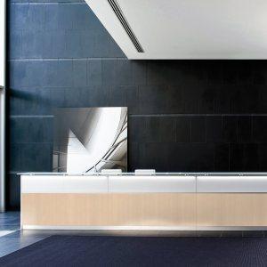Art.REC06 - Reception con o senza led, disponibile in diverse finiture e dimensioni. (DVO)