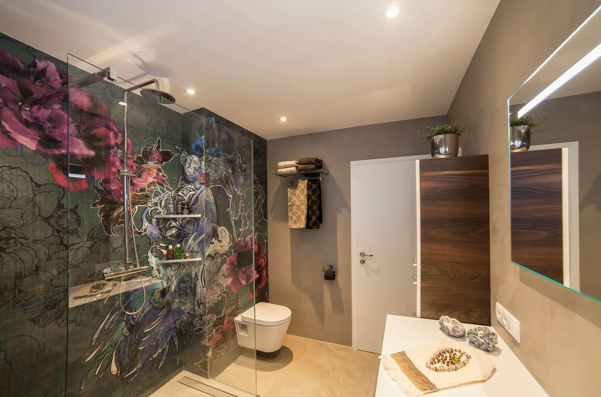Badgestaltung Mit Tapeten I Torsten Muller