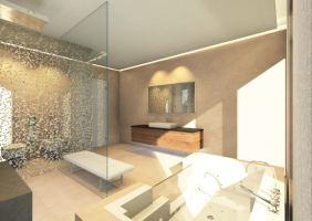 Designer Badezimmer Stil im Bad aus professioneller Hand ...