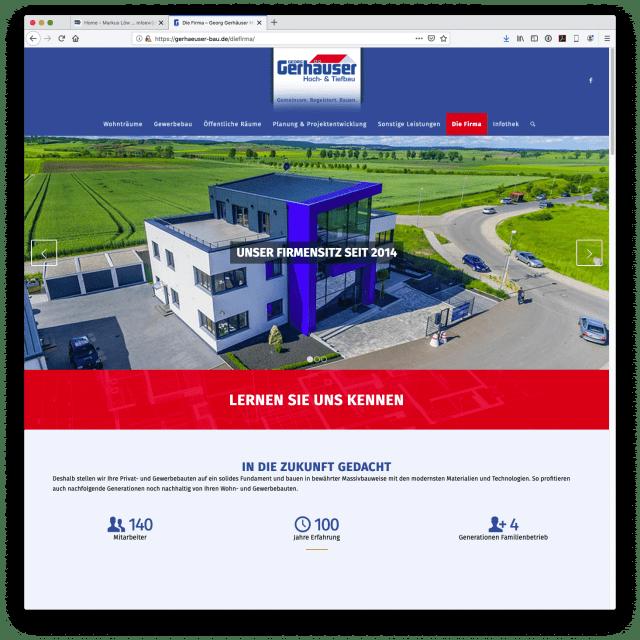 Georg Gerhäuser Hoch und Tiefbau - Homepage