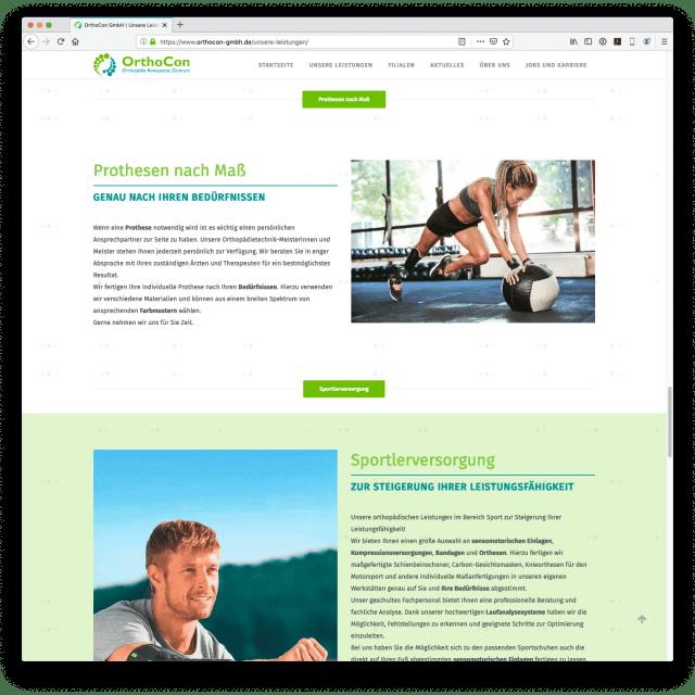 Orthocon GmbH - Homepage