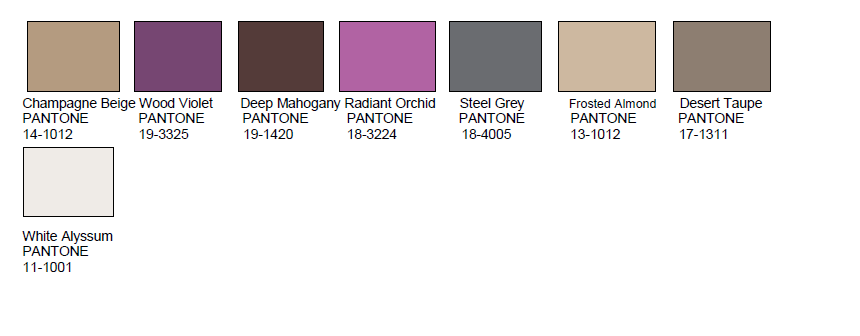 pantone, color palette, style setting, home decor, home design, the mix