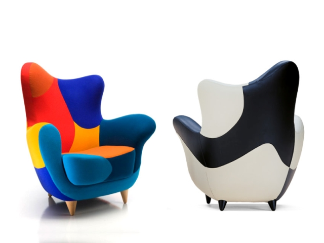 Awesome The Alessandra Armchair (Bergere) By Designer Javier Mariscal For Los  Muebles Amorosos Collection Of Design Ideas
