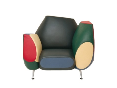 """The """"Hotel 21 Grand Suite"""" Armchair (Los Muebles Amorosos Collection) by Spanish designer Javier Mariscal for Moroso (© Moroso & Javier Mariscal)"""