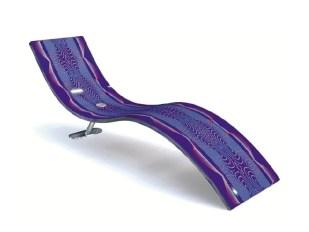 KX-ETHINIK Chaise Longue-Lounger-Daybed by Karim Rashid (2005) from AITALI (Copyright: © Karim Rashid, AITALI)