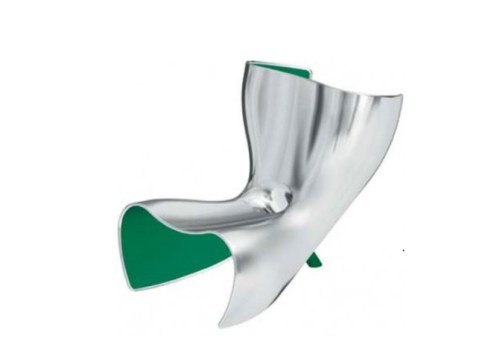 ALUFELT Chair-Chaise Longue-Lounger by Marc Newson (Limited Edition of 6 + 2 Prototypes, 1993) from POD (GALERIE KREO, Paris) - Copyright: ©Marc Newson, GALERIE KREO