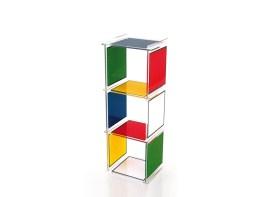 BAD HAUS Cubes-Bookshelves-Bookcases-Console Tables-Side Tables by Jean-Charles de Castelbajac from ACRILA (Copyright: © Jean-Charles de Castelbajac, ACRILA)