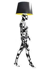 BLACK AND WHITE 2ND Mannequin Floor Lamp by Jimmie Karlsson & Martin Nihlmar from JIMMIE MARTIN (Copyright: © JIMMIE MARTIN, Jimmie Karlsson, Martin Nihlmar)