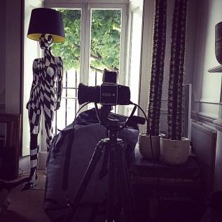 BLACK AND WHITE DIAMOND Mannequin Floor Lamp by Jimmie Karlsson & Martin Nihlmar from JIMMIE MARTIN (Copyright: © JIMMIE MARTIN, Jimmie Karlsson, Martin Nihlmar)