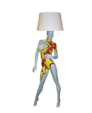 KAPOW Mannequin Floor Lamp by Jimmie Karlsson & Martin Nihlmar from JIMMIE MARTIN (Copyright: © JIMMIE MARTIN, Jimmie Karlsson, Martin Nihlmar)
