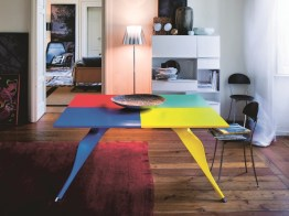 MACAONE Dining Table by Alessandro Mendini (1985) from ZANOTTA (Limited Edition) - Copyright: © ZANOTTA, Alessandro Mendini (Atelier Mendini)