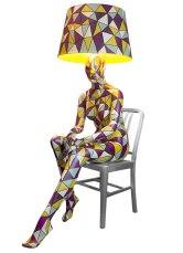 SITTING DIAMOND 2ND Mannequin Floor Lamp by Jimmie Karlsson & Martin Nihlmar from JIMMIE MARTIN (Copyright: © JIMMIE MARTIN, Jimmie Karlsson, Martin Nihlmar)