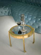 Sofa by Danielle Moudaber - Side Table by Jean-Francois Buisson (photo by Gisela Torres)
