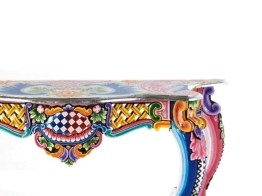 FANTASIA Console Table & Wall Mirror from KARE DESIGN ('Ibiza' Collection, 2011) - Copyright: ©KARE DESIGN