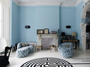 The London Flat of Interior Designer Danielle Moudaber (photo by Shootfactory)