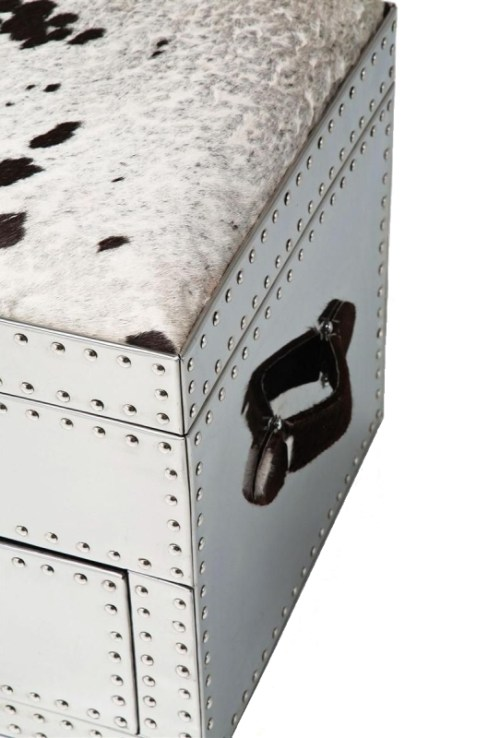 VEGAS COW Trunk-Storage Chest-Seating Bench from KARE DESIGN ('Vegas' Collection) - Copyright: ©KARE DESIGN