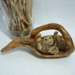 Holzschale 10 – mit Griff
