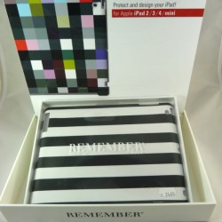 "iPad Case ""Black & White"" - Remember"