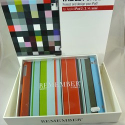 "iPad Case ""Stripy"" - Remember"