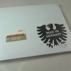 """Mad in Germany"" Mousepad - Block"