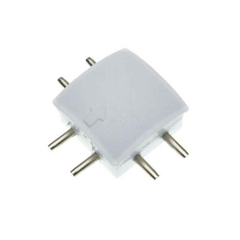 connecteur t pour profile ruban led integre design led 2047