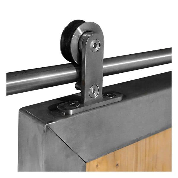 ferrure de porte coulissante bois metal