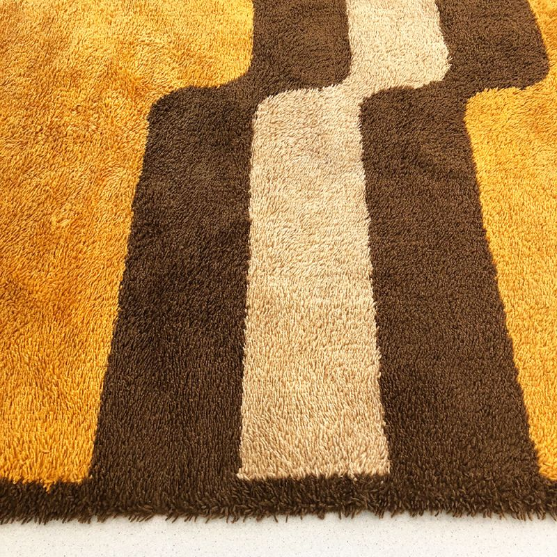 extra large pop art multi color rug by besmer