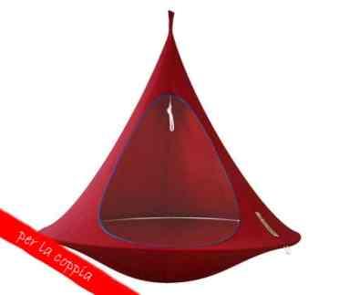 Cacoon, tenda sospesa doppia