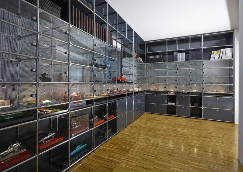 sistema modulare per collezionisti
