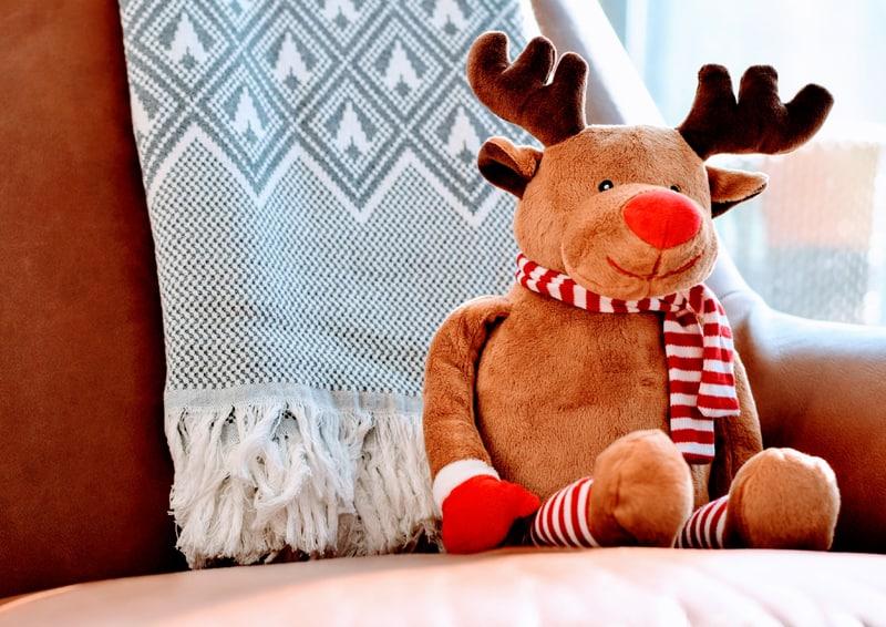 sistemare casa per Natale | costruire un piccolo angolo relax (anche in compagnia!)