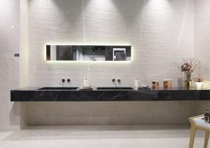 tendenze Cersaie 2017: vintage, marmo e un tocco di colore