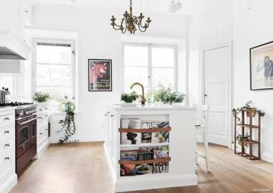 cucina freestanding della tradizione: funzioni, design e colori