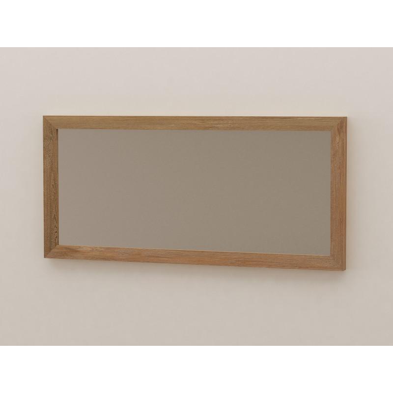 Miroir En Teck Salle De Bain 140 Cm Selon Design Kayumanis