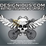 Vintage Pack 6 by: Designious