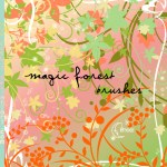 Magic Forest Brushes by: Coby17
