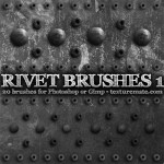 Rivet Brushes by: TextureMate