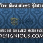 Seamless Pattern Vector by: Designious