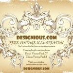 Vintage Frame Vector by: Designious