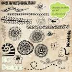 Doodle Brush Set 7 by: HG Designs