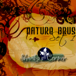 Natura Brush Set 1 by: SpiritCoda