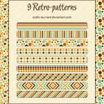 Retro Patterns by: Etoile-du-nord