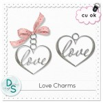 Free Commercial Use Heart Charms